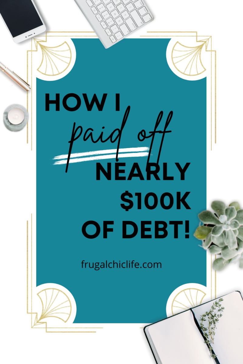 How I Paid Off Nearly $100K of Debt