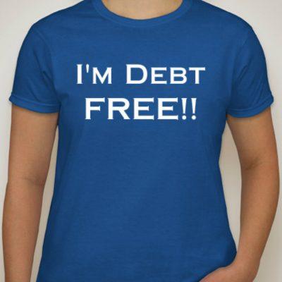 I'm debt free