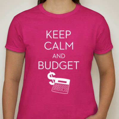 Keep Calm and Budget