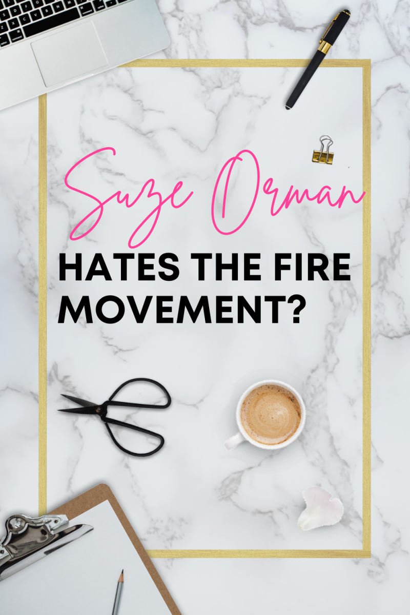 Suze Orman Hates the FIRE Movement