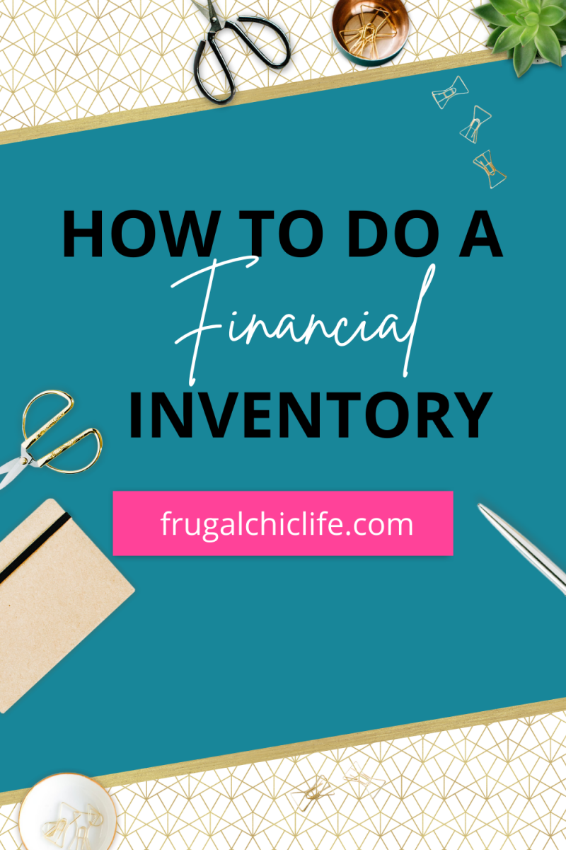 How to Do a Financial Inventory