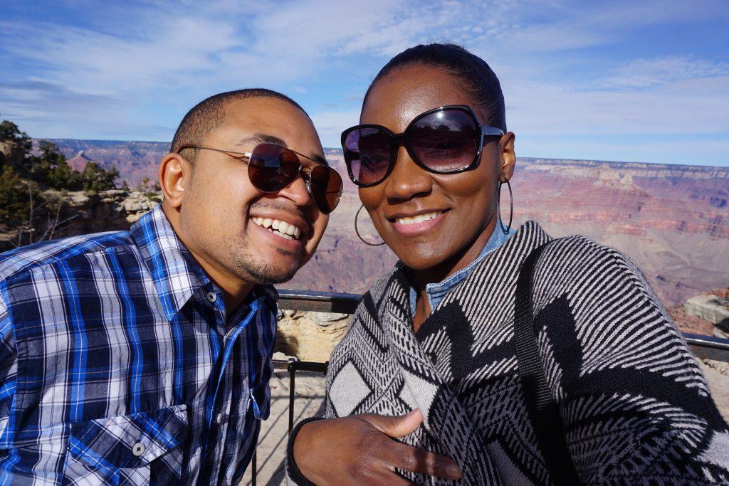 Eric and I Grand Canyon