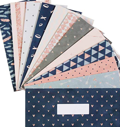 Laminated Budget Envelopes