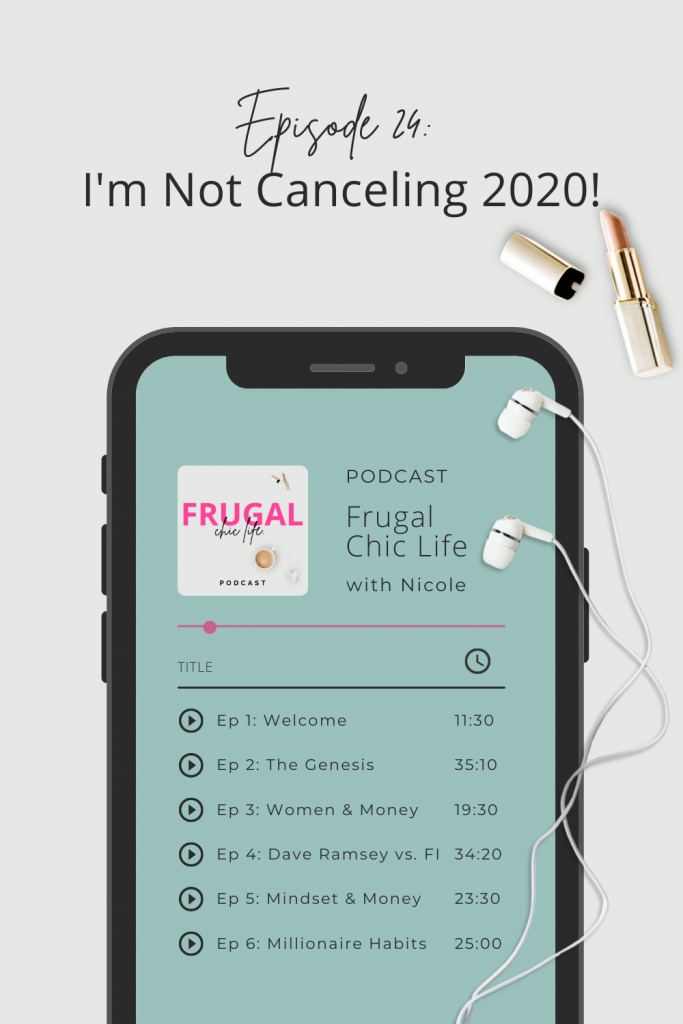 Frugal Chic Life Podcast Episode 24