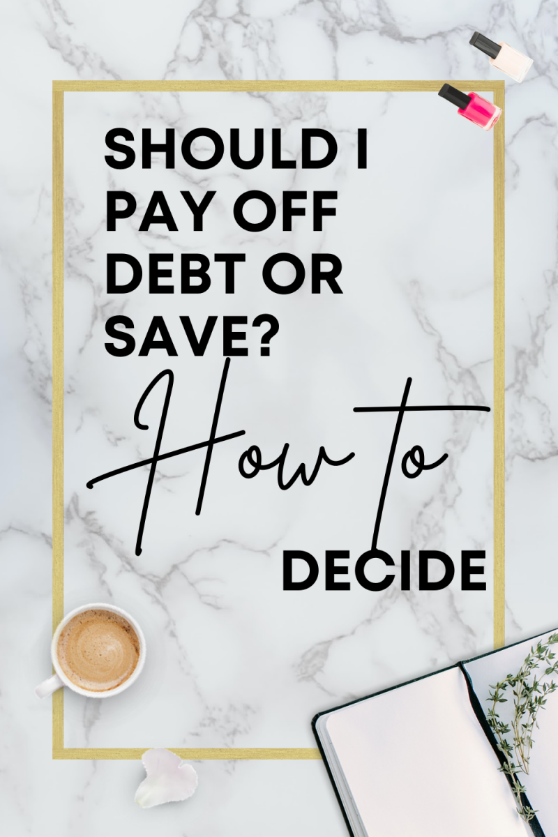 Should I Pay Off Debt or Save