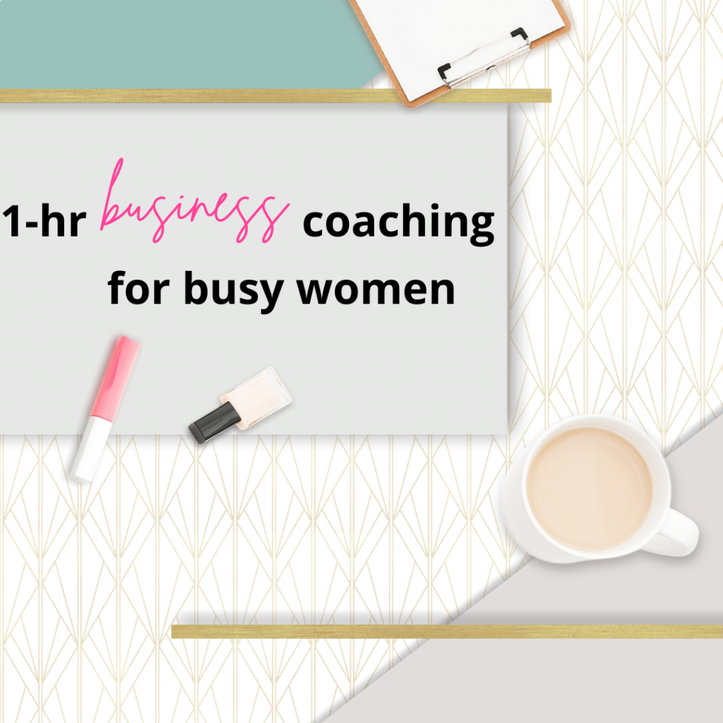1-Hour Business Coaching