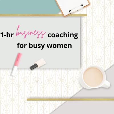 1-Hour Business Coaching