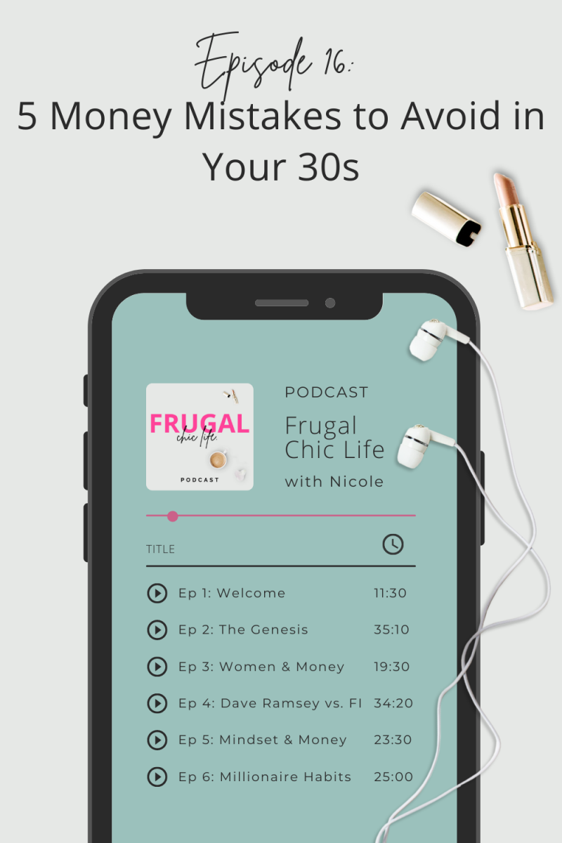 Frugal Chic Life Podcast Episode 16