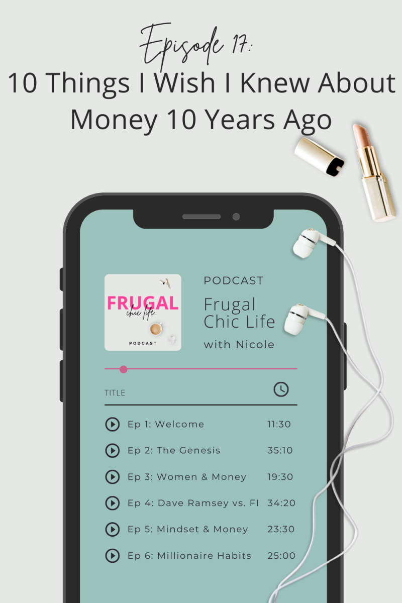 Frugal Chic Life Podcast Episode 17