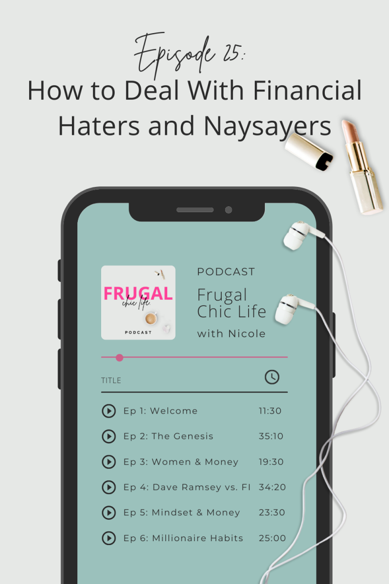 Frugal Chic Life Podcast Episode 25