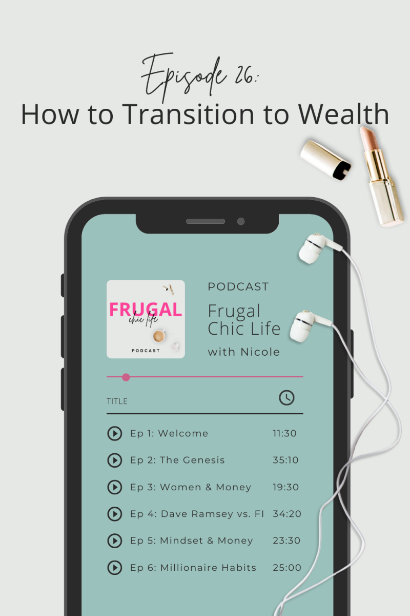 Frugal Chic Life Podcast Episode 26