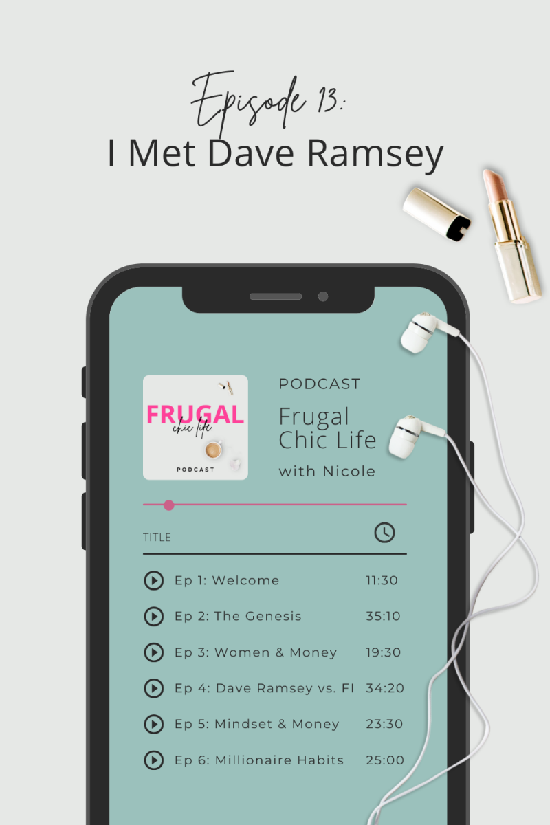 Frugal Chic Life Podcast Episode 13