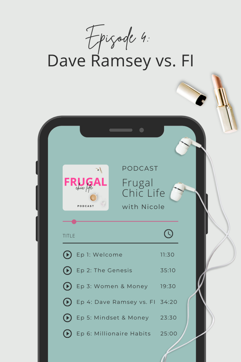 Frugal Chic Life Podcast Episode 4